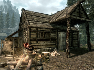 Oblivion Style Waterfront Shack
