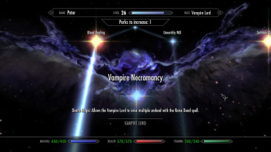 Vampire Lord Mass Necromancy At Skyrim Nexus Mods And Community