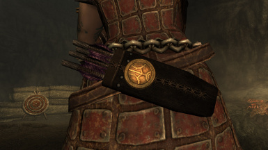 New Basic Dwarven Quiver With Badge