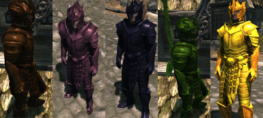 Medieval Power Ranger Armours