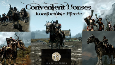 Convenient Horses - Komfortable Pferde - German Version