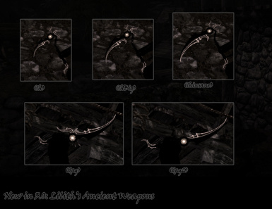 Liliths Sickle - Custom Scythe at Skyrim Nexus - mods and