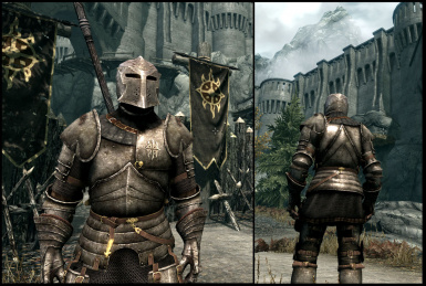 dawnguard armor texture at skyrim nexus mods and witcher 2 style dawnguard and standard heavy plate at 991