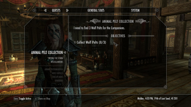 New radiant pelt collection quest