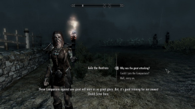 how to join the companions skyrim