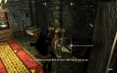 Ria knows that I am not a Nord