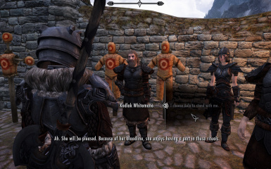 Circle ceremony - with Aela by my side