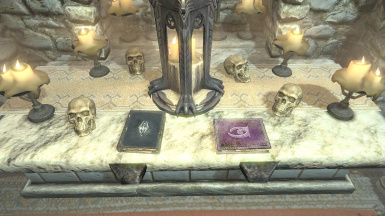 Spell book and backstory