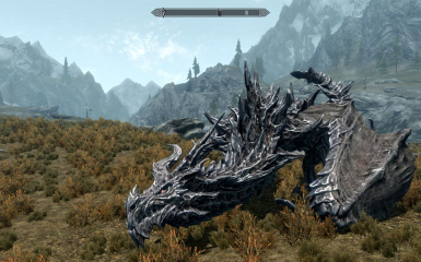 Playing as Alduin