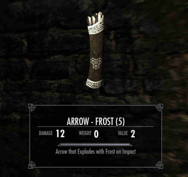 Quiver of Frost Arrows