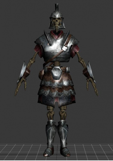 Armored Skeletons - Modders Resource