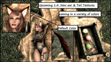 1-4 Tail Texture Showoff