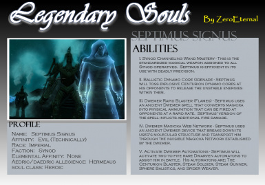 Legendary Souls - Summon the Souls of Heroes and Villains of