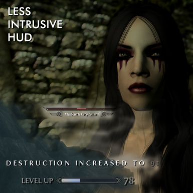 Less intrusive HUD -outdated-