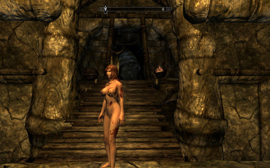 Wounded bloody CBBE texture mod at Skyrim Nexus - mods and community