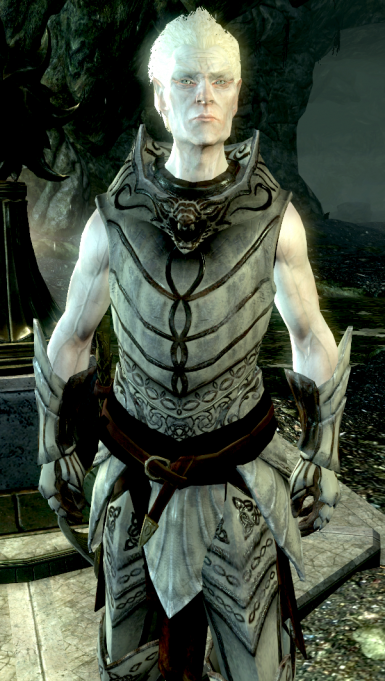Ancient Falmer Armor without pauldrons