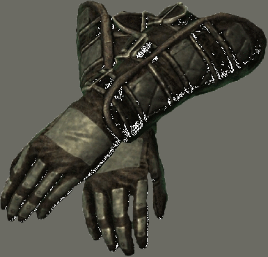 Dawnguard Heavy Boots and Gauntlets
