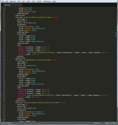 Papyrus Assembly package for Sublime Text 2