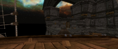 View onto the Tesseract Balcony from the Dev Aveza
