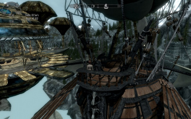 Docked at Sky Boat House over Solitude