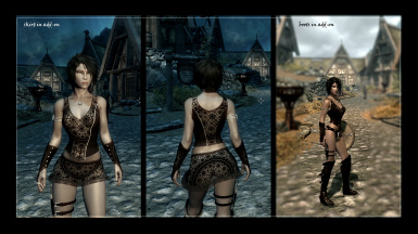 Princess of the wood addons and alternative sexy textures