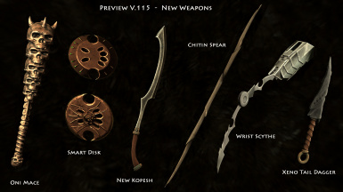 V115 New Weapons