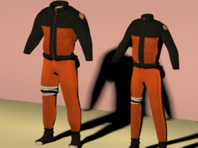 naruto outfit sizes 0 and 1 done
