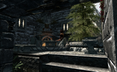 Courtyard for Windhelm Hjerim