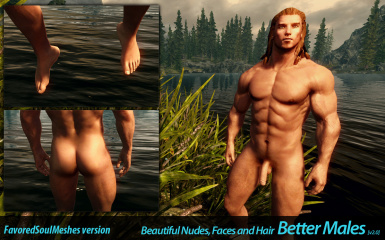 Better Males Beautiful Nudes And Faces New Hairstyles At Skyrim Nexus Mods And Community