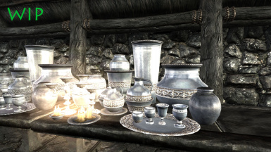 Gilded silver set for Thalmor and darker rich folk