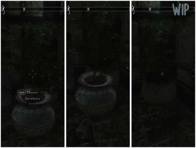 WIP placement mod logic to handle stealing planters - taking a planter disables the plant inside
