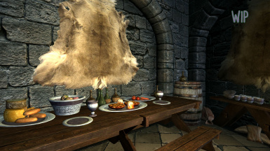 WIP College set and placement mod shown in Winterhold Magic College