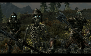 New rusty Steel Armor for Skeletons