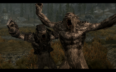 Tundra Troll and Armored Tundra Troll
