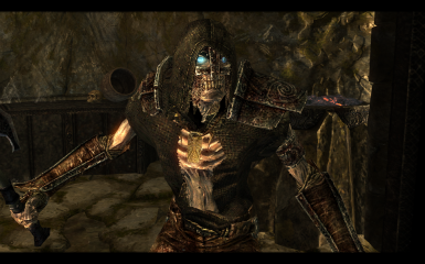 Draugr Lich - new textures in v5