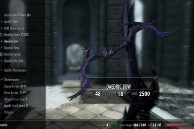 Soul cairn daedric armor and weapons with volendrung