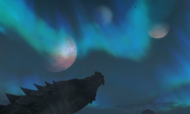Lotmarraan stare at the twin moons