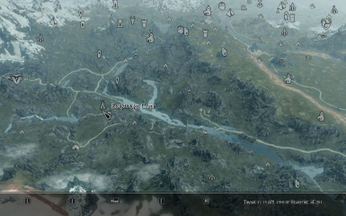 Map Markers Camps and Shacks