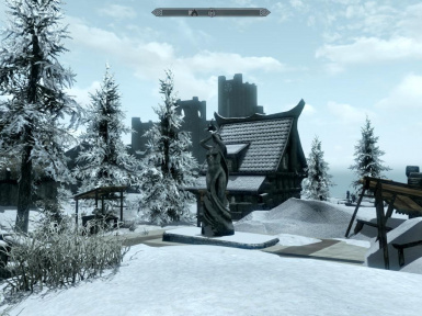Winterhold Ruins - House and Forge Addon