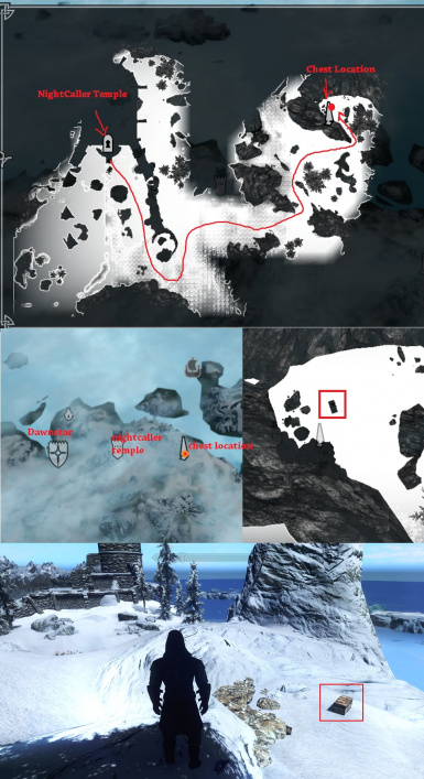 Armor Location Map