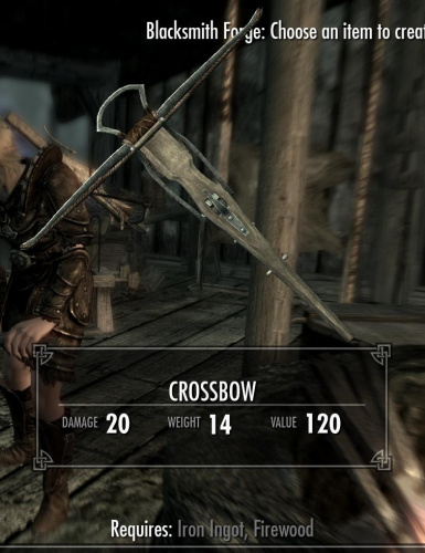 Dawnguard Bolts Extended
