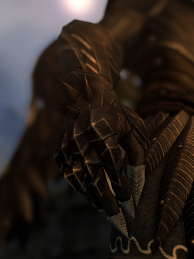 Male Thalmor Gauntlets