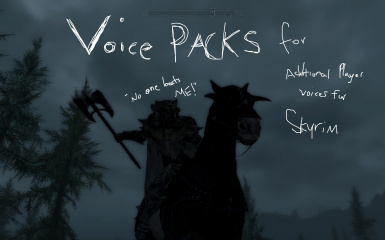 Additional Player Voices for Skyrim - Voice Packs