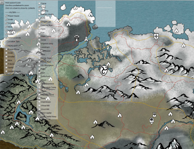 Skyrim Interactive Map Interactive map _Standalone_ at Skyrim Nexus   mods and community