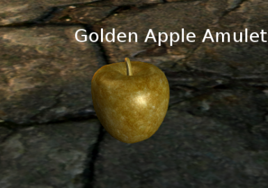 Golden Apple Amulet