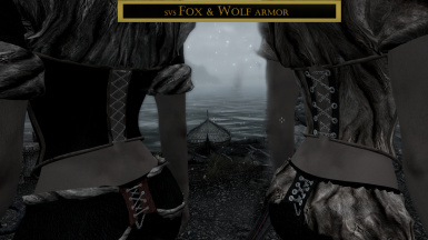 Fox and Wolf armor