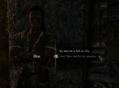 The Choice is Yours - Fewer Forced Quests - Improved Dialogue Options