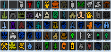 Colored Map Markers - Green Quests