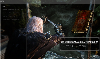 Console Commands and Item Codes at Skyrim Nexus - mods and