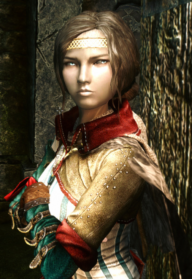 Serana with some beauty mod